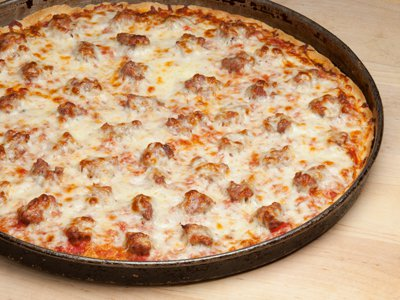 Pizza Thin Crust Sausage